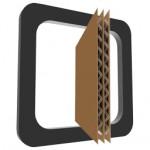 Carton double cannuelure - renforcé