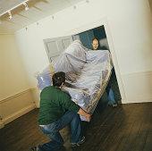 déménager meuble porte